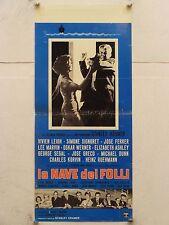 LA NAVE DEI FOLLI drammatico regia Stanley Kramer locandina orig. 1965