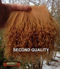 M00678 MOREZMORE Tibetan Lamb Fur BROWN SUGAR Seconds Doll Baby Hair Wig T20