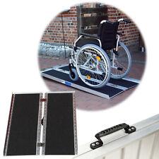Trutzholm Rollstuhlrampe 152cm 272kg Klappbar Alu Friktionsbeschichtung Rampe