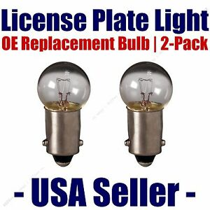License Plate Bulb 2pk OE Replacement Fits - Listed Land Rover Vehicles - 6253