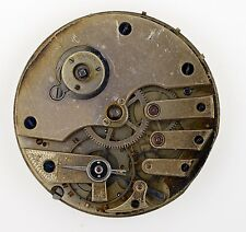 SWISS LEVER HIGH QUALITY POCKET WATCH MOVEMENT KW KS BALANCE OK SPARES Q41
