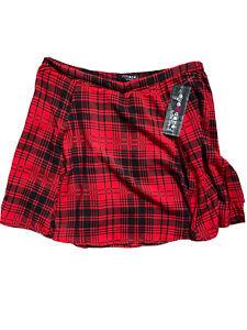 Eye Candy Juniors Plaid Mini Skirts