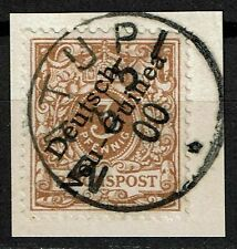 Deutsch-Neuguinea 1 b gestempelt, geprüft Jäschke-L. BPP, Mi. 70,-