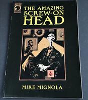 The Amazing Screw-on Head issue #1 Dark Horse Comics 2002 Mike Mignola