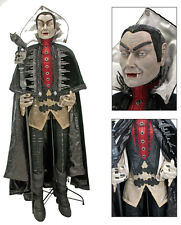 28-628047 Katherine's Collection Lifesize Count Vampire Halloween Doll Dracula