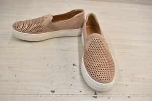 Naturalizer Carly Slip on Shoes - Women's Size 8.5 W, Mauve Leather NEW