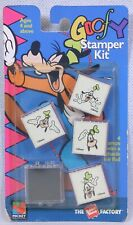 Vintage Goofy Stamer Kit Mickey Unlimited Rubber Stamp Factory Made In U.S.A.
