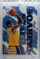 1997 97-98 FLEER HIGH FLYING SOARING STARS Kobe Bryant #4HFSS, Parallel INSERT !