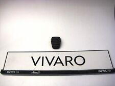 Pedalgummi für Bremse und Kupplung original Vivaro A vom Opel Händler