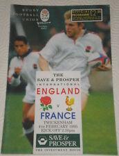 1995 ENGLAND v FRANCE - England 5 NATIONS GRAND SLAM CHAMPIONS