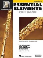Essential Elements for Band : Comprehensive Band Method : Flute Book 1, Paper...