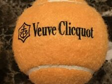 VEUVE CLICQUOT CHAMPAGNE ORIGINAL VCP RARE 3 PACK TENNIS BALLS NEW SEALED