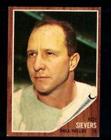 1962 Topps Roy Sievers #220 Philadelphia Phillies EX VINTAGE Baseball Card