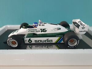 RARE Minichamps 1/18 Williams Ford FW08 Keke Rosberg 1982 World Champion
