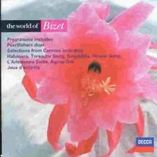 Bizet - The World of Bizet (New CD 1999) Te Kanawa Domingo Pavarotti Solti etc