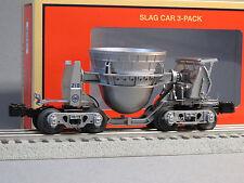 LIONEL US STEEL SLAG CAR 218 O GAUGE 83466 train hot metal USS Mill 6-83467 NEW