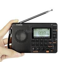 Portable LCD Receiver REC Recorder TF MP3 Player FM AM SW Full Band Radio V9N4