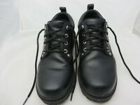 Merrell Men's Shoes US Sz 10 Black upper Leather Ortholite lace up