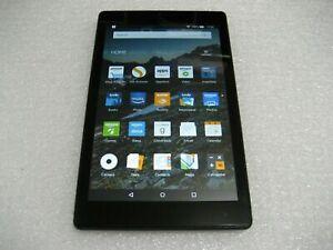 """Amazon Fire HD 8 (7th Generation), 16GB, Wi-Fi, 8"""" Tablet, Black SX034QT"""