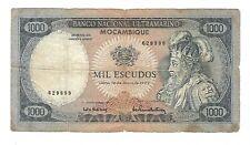 New listing Mozambique -1972, 1000 Escudos
