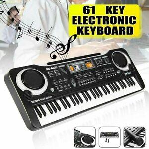 Digitales Piano Keyboard elektronisches Klavier Keyboard Tragetasche 61-tasten