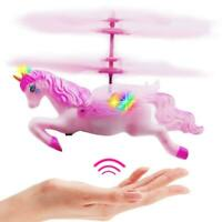 Girls Unicorn Helicopter Toys For Kids Little Girl Christmas Gift Hand Control