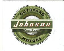 JOHNSON OUTBOARD BOAT MOTORS  Sticker Decal