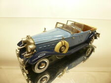 WESTERN MODELS CORD CONVERTIBLE - BLUE + BLACK 1:43 - VERY GOOD CONDITION - 58
