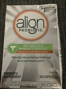 New Sealed Align Daily Immune Support 28 Capsules Exp 2/23
