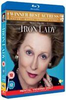 The Iron Lady (Blu-Ray, 2011) New Meryl Streep Margaret Thatcher Movie Film UK