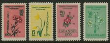Turkey 1154-7 MNH Flowers, Rose, Carnation, Tulip, Lily
