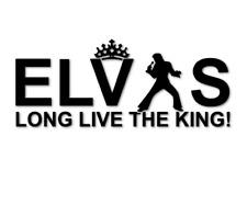 Elvis Presley The King Aufkleber Sticker lebt live Autoaufkleber decal 24 #8283