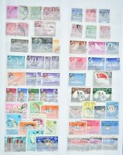 SINGAPORE, an accumulation of stamps for sorting, mainly used condition.