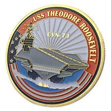 U.S. Navy USS Theodore Roosevelt / CVN-71 GP Challenge Coin 1139#