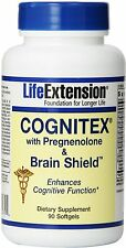 Cognitex Plus Pregnenolone with Brain Shield, Life Extension, 90 softgels