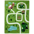 Hallmark Busy City, Farm or Park Canvas Learn Discover Play Mat Rug Baby Toddler