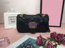 2020New Women Real Leather Classic Messenger Fashion Chain Bag High Quality 26cm