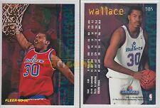 NBA FLEER 1995-1996 SERIES 2 - Rasheed Wallace, Bullets # 385 - Mint