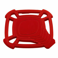 Collapsible Silicone Insulation Hot Pad With Spoon Rest Silicone Trivet Hot Pad