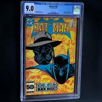 BATMAN #386 (DC 1985) 💥 CGC 9.0 💥 1ST APPEARANCE OF BLACK MASK! KEY