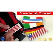Julius K9 USA flag labels, large
