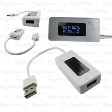 USB Mini LCD Voltage Current Detector Mobile Battery Power Charger Tester Meter