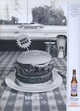 "Bud Light Beer ""Hamburger"" 2000 Magazine Advert #493"