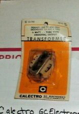 NEW SEALED Tube Type CALECTRO TRANSFORMER D1-740 Primary 1000-4500 2nd 3.2-8 ohm