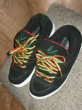 Classic ES Accel Rasta Skateboard Shoes Red Green Yellow Black Mens Size 11