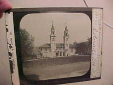 1893 WORLDS COLUMBIAN EXPOSITION Glass LANTERN SLIDE-COLORADO BUILDING