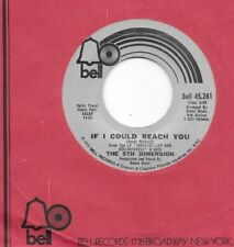 5th DIMENSION * 45 * If I Could Reach You * 1972 #10 * UNPLAYED MINT * NOS TOP10
