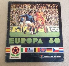 Panini European championship Sports Sticker Albums
