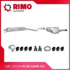 Opel Astra G 1.6 1.8 2.2 16V Coupe Cabrio Mittel+Endschalldämpfer Auspuffanlage