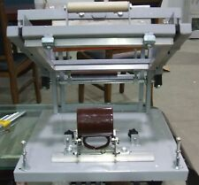 New Manual screen cylinder printing machine for bottle/cup/pen surface curve E